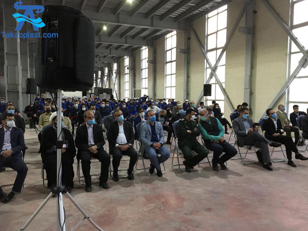 برگزاری روز جهانی کارگر در کارخانه تکاب اتصال دماوند